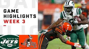 Jets vs. Browns Week 3 Highlights | NFL 2018 - YouTube