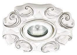 <b>Встраиваемый светильник Novotech Farfor</b> 370041, белый ...