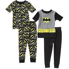 <b>Baby</b> Boys Batman 4 Piece <b>Cotton</b> PJ Set: <b>Baby</b> Clothing : Walmart ...