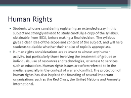essay on human rights violations in africa   essay international baccalaureate the extended essay october  human rights students who are considering