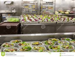 salad preparation area in commercial kitchen stock photo image salad preparation area in commercial kitchen