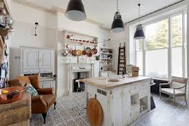 view in gallery beautiful shabby chic style kitchen with tiled flooring from bruce hemming photography beautiful shabby chic style