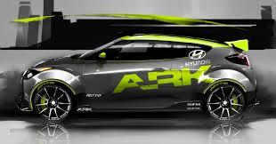 Hyundai Veloster Accessories 2012 Hyundai Ark Performance Veloster Conceptcarz