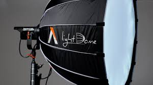 Aputure Light Dome Soft Box for COB 120 LED Light and Bowens ...
