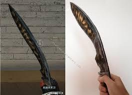 Бумажная модель <b>Нож Kukri</b>-Tiger (CrossFire) :: <b>PAPER</b>-MODELS ...