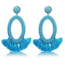 Vintage Drop Dangle Earrings Boho Statement Tassel ... - Amazon.com