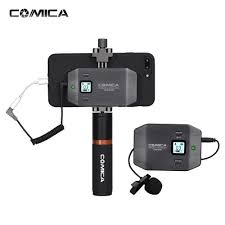 <b>Comica COMICA CVM</b>-<b>WS50</b>(B) <b>6</b>-Channel <b>UHF</b> Wireless ...