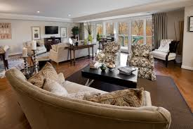 model living rooms: a different view of the same living room