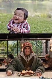 Evil Kid All Grown Up by le-mao - Meme Center via Relatably.com