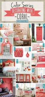 home accents interior decorating: color series decorating with coral coral home decor