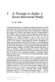 a passage to a socio historical study springer a passage to a passage to