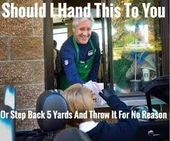 WHAT IT MEMES TO BE PETE CARROLL | The Trojan-Haters Club via Relatably.com