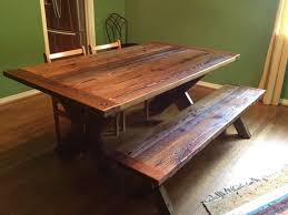 Dining Room Tables Reclaimed Wood Reclaimed Wood Dining Room Table And Chairs Table Designs