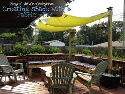 sail canopy patio wooden