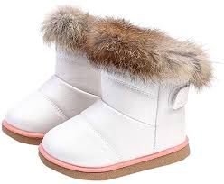 Deloito Baby Soft Leather <b>Booties Snow Boots</b>, Children Baby Girls ...