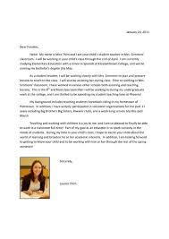 Letter Of Introduction Teacher  example cover letter for teaching     an introduction to the national nursing assistant survey aspe
