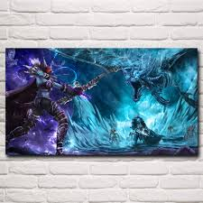World of WoW Lich King <b>Sylvanas Windrunner</b> Dragon Game Art ...