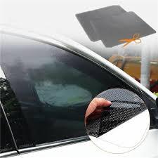 <b>2pcs Car Auto</b> Side <b>Window</b> Mesh Film Electrostatic <b>Sticker</b> UV ...