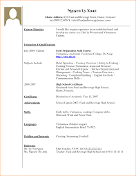 how to write a cv no job experience basic job appication example of cv no work experience