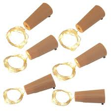 6ct Battery Operated <b>Wine Corks</b> With Submersible LED String ...