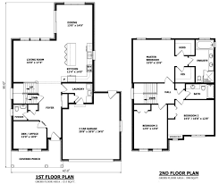 House Plans Canada   Stock CustomCALGARY FLOOR PLAN