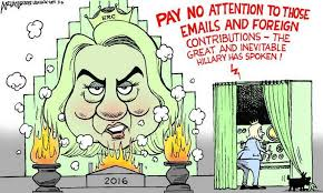 Image result for clinton cartoons