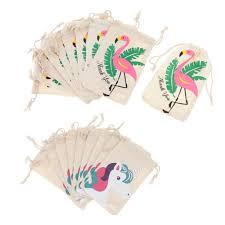Loviver <b>20pcs</b> Set <b>Flamingo Unicorn</b> Thank you Cotton Jewelry ...