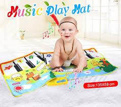 135x58CM Baby <b>Piano Mats Music Carpets</b> for Newborn Baby ...