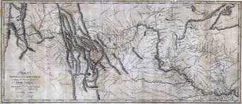 lewis and clark in south dakota a map of lewis and clark s track across the western portion of north america from