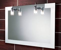 bathroom mirrors with lights in them bathroom mirror with lighting