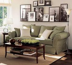family room sage green couch with bamboo rug for modern family room ideas with stylish burgundy furniture decorating ideas
