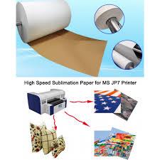 70gsm 63 anti curl fast dry jumbo roll heat transfer paper for ms 70gsm 63 1 6m anti curl fast dry jumbo roll heat transfer paper for