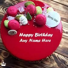 Name <b>Birthday Cakes</b> - Write Name on <b>Cake</b> Images