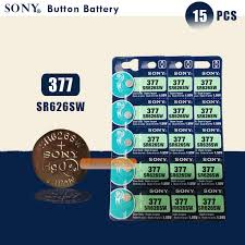 <b>2pcs NEW SONY</b> 100% <b>Original</b> 377 SR626SW 626 SR626 V377 ...