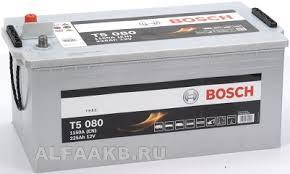 Аккумулятор <b>Bosch</b> T5 080 Heavy Duty Extra, грузовые ...