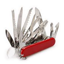 2015 91mm Multifunctional Tools <b>Stainless Steel</b> Army Knife Folding ...