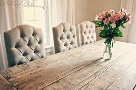 Farmhouse Dining Room Table And Chairs Farmhouse Dining Table Chairs Tufting Dining Chairs X Farmhouse