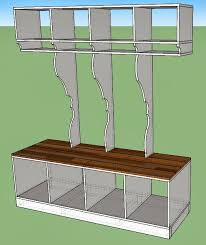 how to build <b>entryway mudroom</b> cubby shelving system, <b>Home</b> Heart ...