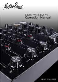 MasterSounds Linear <b>4V</b> Boutique Analogue DJ Mixer