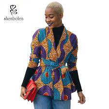 2019 <b>2018 Autumn African Dress</b> For Women Long Sleeve Jacket ...