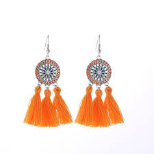 New <b>Bohemian Fashion Women Drop</b> Earrings Romantic Sun ...