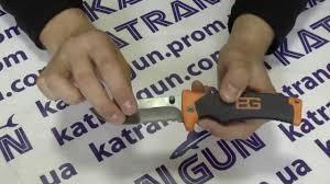 <b>Складной нож</b> выживания <b>GERBER Bear</b> Grylls Folding Sheath Knife