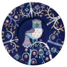 Блюдце <b>Taika</b> под <b>кофейную чашку</b>, синее купить с нанесением ...