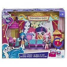 "MLP. <b>Equestria Girls</b> Игровой <b>набор мини</b>-<b>кукол</b> ""Кинотеатр"" цена ..."