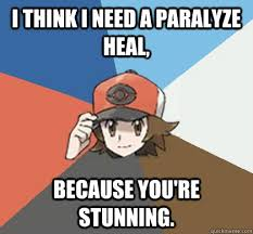Pokemon Trainer Pick-Up Lines memes | quickmeme via Relatably.com