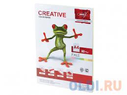 <b>Бумага CREATIVE color</b> (<b>Креатив</b>), А4, 80 г/м2, 100 л. (5 цв.х20 л ...