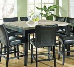 Dining Room Tables Portland Or Silver Monarch Marble Top X Counter Height Table Efurniture Mart