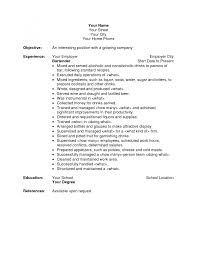 resume examples cover letter template for bartender resume resume examples responsibilities of a bartender for resume bakery manager resume