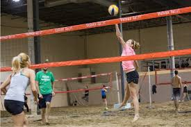 Esapce Griffintown indoor beach volleyball montreal canada