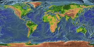 Resultado de imagen de el relieve del planeta
